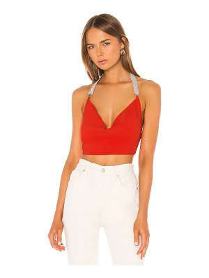 superdown desi tie back crop top