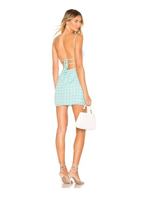superdown elinn strappy back dress