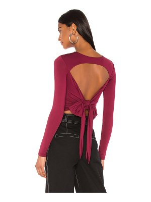 superdown emilie wrap top