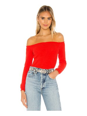superdown evie ruched crop top