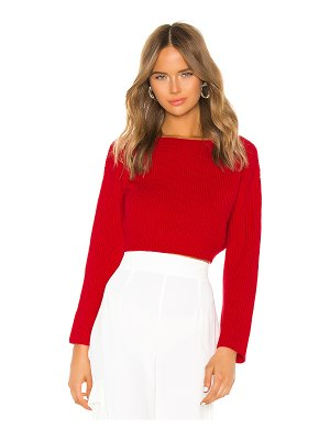 superdown geraldine ribbed sweater