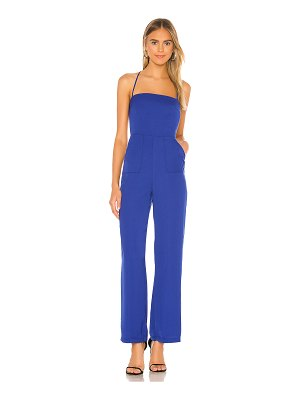 superdown irene open back jumpsuit