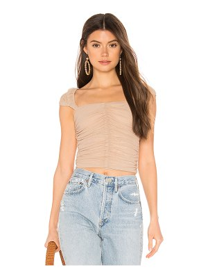 superdown jeane ruched top