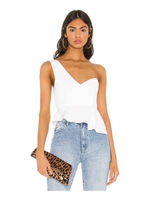 superdown karlie one shoulder top