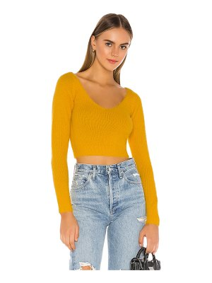 superdown kendra crop sweater top