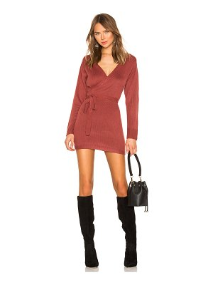 superdown Kina Wrap Sweater Dress