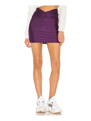 superdown kira ruched mini skirt