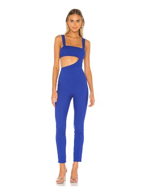 superdown leslie cut out jumpsuit