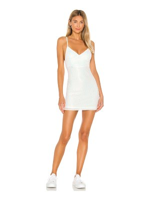 superdown liliana bodycon mini dress