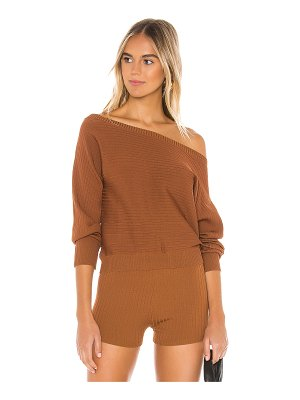 superdown mailyn pullover sweater