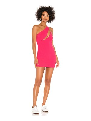 superdown maliya one shoulder dress