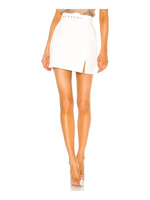 superdown melina slit mini skirt
