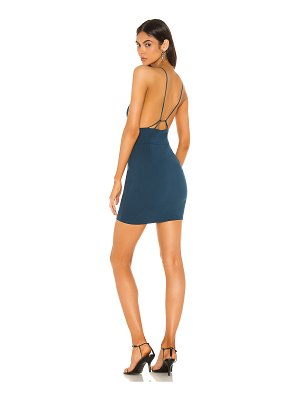 superdown octavia strappy back dress