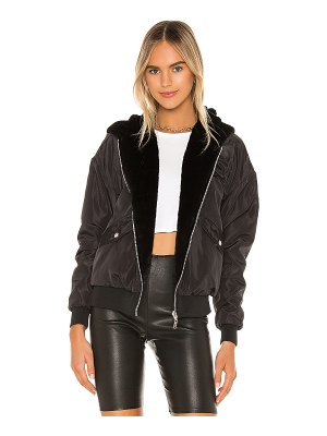 superdown raelyn reversible bomber jacket