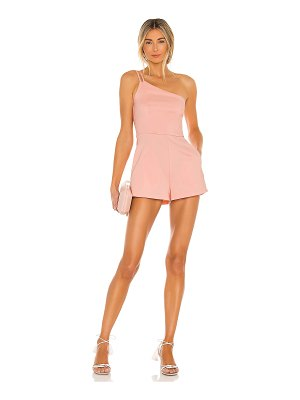 superdown ramona double strap romper