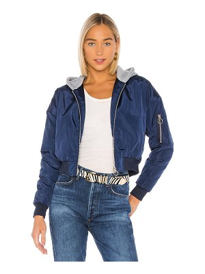 superdown raquel cropped hooded jacket
