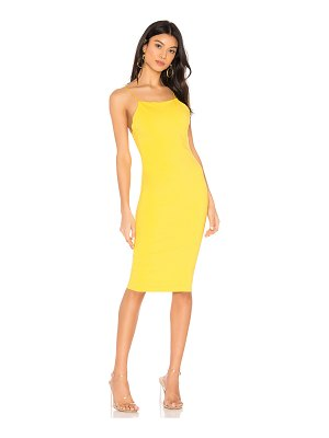 superdown roseanne strappy back dress