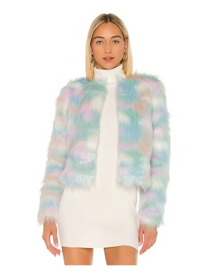 superdown shiloh faux fur jacket