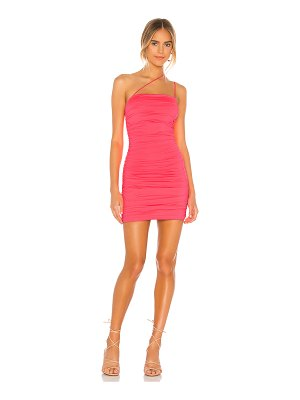 superdown sierra ruched mini dress