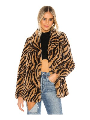superdown tamara faux fur jacket