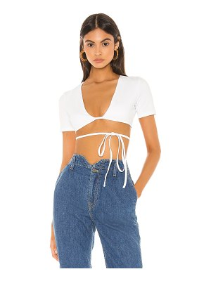 superdown tamicha crop top