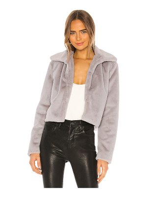 superdown tianna faux fur jacket