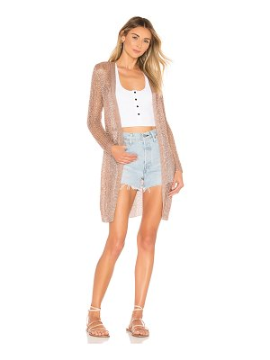 superdown x revolve karen metallic cardigan