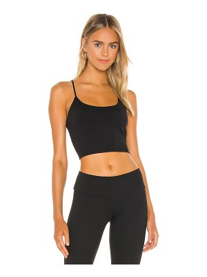 Susana Monaco string racer crop top