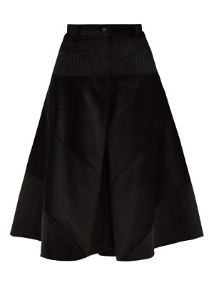 Symonds Pearmain high rise cotton corduroy culottes