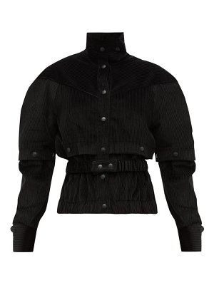 Symonds Pearmain press-stud sleeve cotton-corduroy jacket