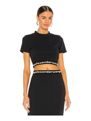 T by Alexander Wang baby tee