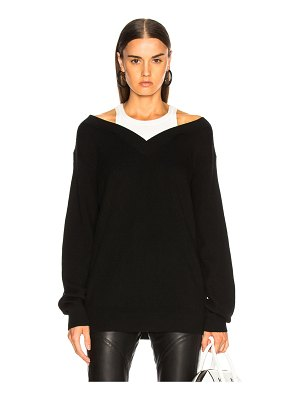 T by Alexander Wang Bi Layer Tank Sweater