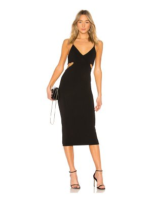 T by Alexander Wang Cutout Fitted Dress