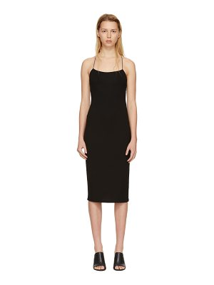 T by Alexander Wang Fitted Back Slit Dress