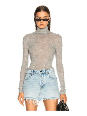 T by Alexander Wang Fitted Turtleneck Sweater