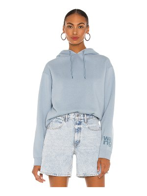 T by Alexander Wang foundation terry hoodie