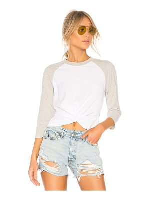 T by Alexander Wang High Twist Front Top