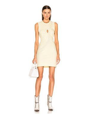 T by Alexander Wang Keyhole Twist Dress