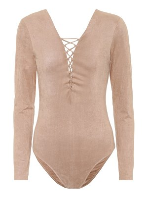 T by Alexander Wang Lace-up bodysuit