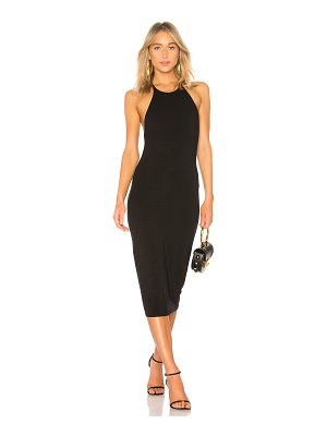 T by Alexander Wang Sleeveless Fitted Midi Dress