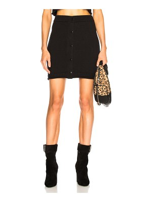 T by Alexander Wang Snap Mini Skirt