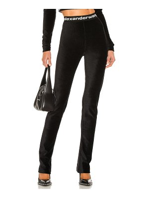 T by Alexander Wang stretch corduroy flare pant