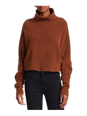 T by Alexander Wang stretch wool turtleneck sweater