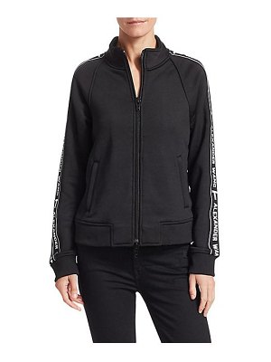 T by Alexander Wang terry logo track jacket
