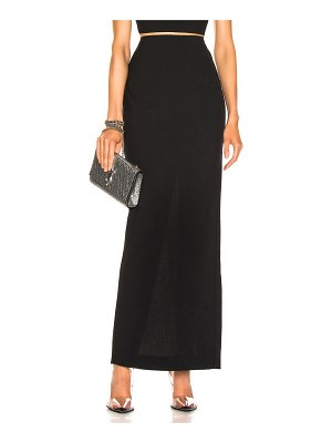T by Alexander Wang Washable Wool Long Skirt