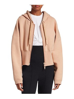 T by Alexander Wang wide banded terry hoodie