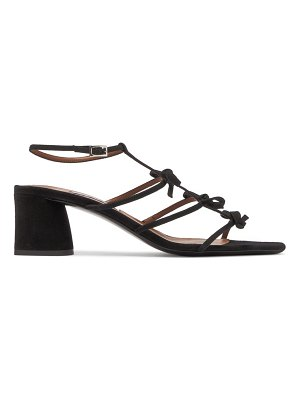 Tabitha Simmons covie bow-embellished suede sandals