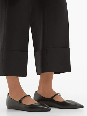 Tabitha Simmons hermione leather mary jane flats