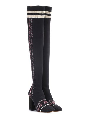 Tabitha Simmons irina knit over-the-knee boots
