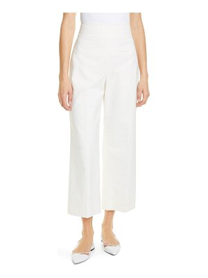 TAILORED BY REBECCA TAYLOR crop suit pants